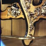 Нижняя часть стола с литым декором – проект М.Р. Тренихина. Начало 1990-х.