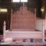 Проект кровати для спальни Е. И. Чивилихина – М.Р. Тренихин  В процессе изготовления во Владыкинском худкомбинате