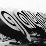 Буквы названия на дворец «Даурия» г. Кранокаменск. 1987  Сварная сталь, окраска, светооснащение