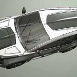 Разработка Marussia F2 в 3D