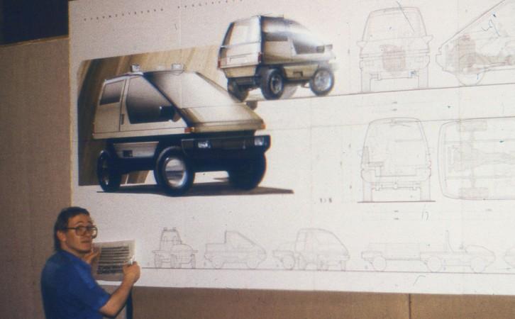 Дипломная работа Рюрикович дизайн Дизайн студия Михаила Тренихина Дипломная работа Автомобильный дизайн 1988
